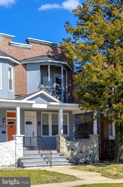 Baltimore City Single Family Home For Sale