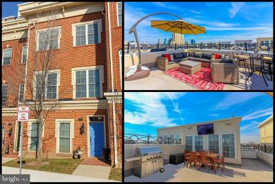 Baltimore City Townhouse For Sale: 1323 Covington Street