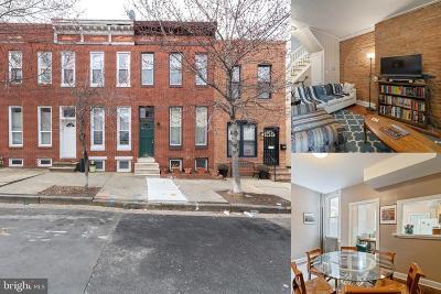 Baltimore Townhouse For Sale: 128 N Collington Avenue