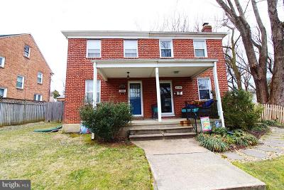 Baltimore Single Family Home For Sale: 6309 Clearspring Road