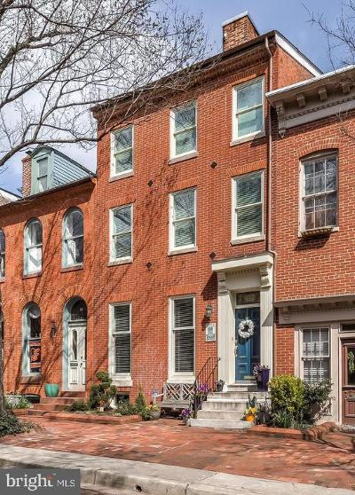 Baltimore City Townhouse For Sale: 116 W Lee Street