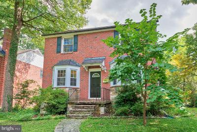 Baltimore Single Family Home For Sale: 5803 Kipling Court