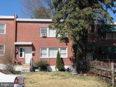 Baltimore City Townhouse For Sale: 614 Harwood Avenue