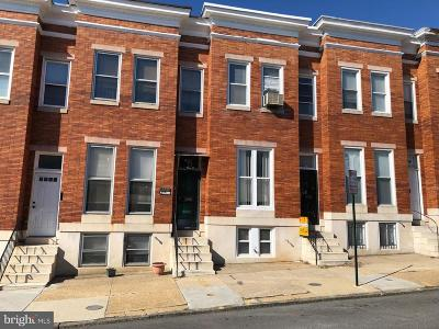 Baltimore Townhouse For Auction: 2006 W Lexington Street