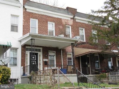 Baltimore Townhouse For Sale: 4118 Norfolk Avenue
