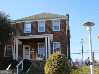 Baltimore Townhouse For Sale: 3316 Woodstock Avenue