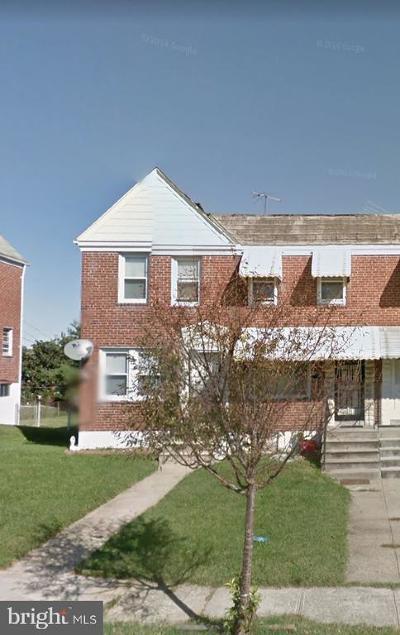 Baltimore Townhouse For Sale: 3668 Kenyon Avenue