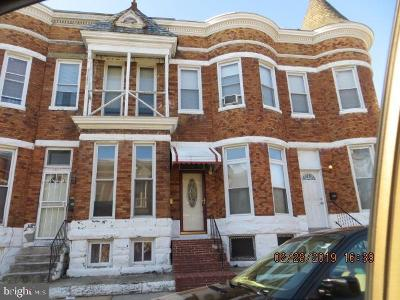 Baltimore Townhouse For Sale: 2314 Ruskin Avenue