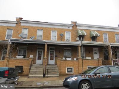 Baltimore Townhouse For Sale: 2734 E Biddle Street