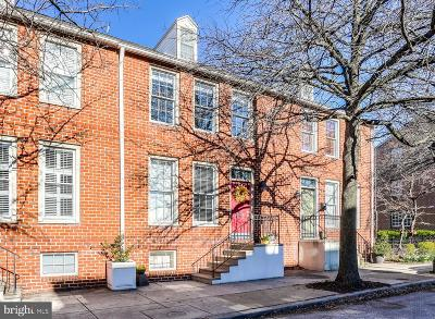 Baltimore City Townhouse For Sale: 802 S Sharp Street