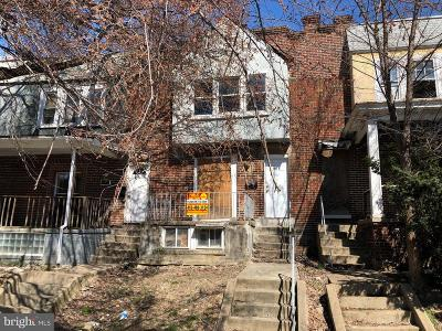 Baltimore City Townhouse For Auction: 1616 Abbotston Street