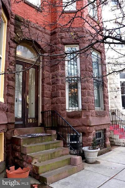 Baltimore City Townhouse For Sale: 1915 Saint Paul Street