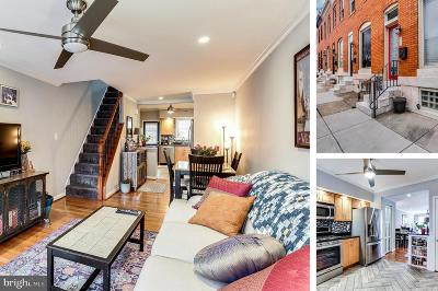 Baltimore Townhouse For Sale: 715 S Curley Street