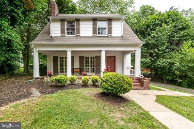 Baltimore City Single Family Home Active Under Contract: 406 Hollen Road