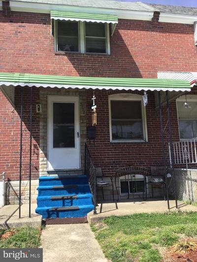 Baltimore Townhouse For Sale: 3718 10th Street
