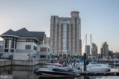 Baltimore City Rental For Rent: 100 Harborview Drive #211