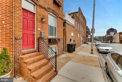 Baltimore Townhouse Under Contract: 1017 S Baylis Street