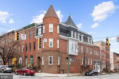 Baltimore City Townhouse For Sale: 2 N Patterson Park Avenue