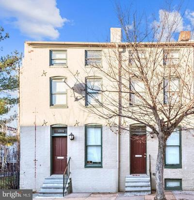 Baltimore Townhouse For Sale: 1214 W Lombard Street