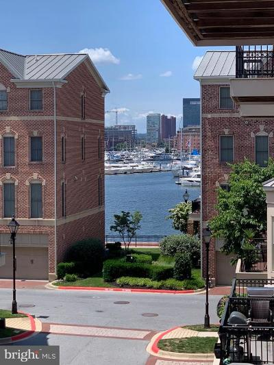 Baltimore City Townhouse For Sale: 2611 Lighthouse Lane