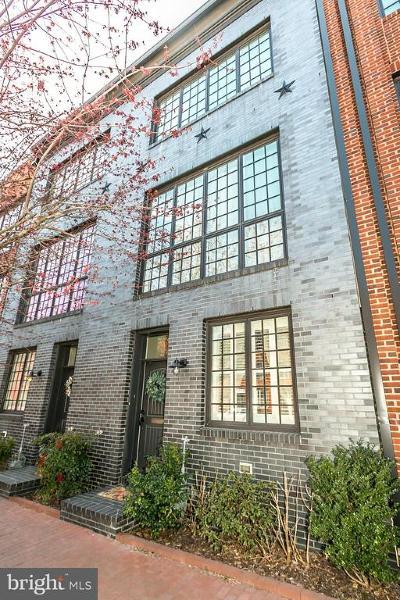 Fells Poi Nt, Fells Point, Fells Point/Hopkins, Fells Pt./Hopkins Townhouse For Sale: 130 S Ann Street S