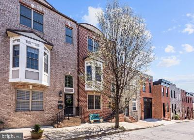 Canton Townhouse For Sale: 705 S Port Street