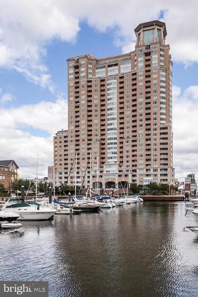 Baltimore City Condo For Sale: 100 Harborview Drive #PH3C