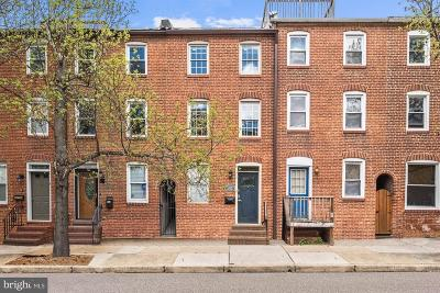 Canton Townhouse For Sale: 2218 Fleet Street