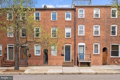 Baltimore City Townhouse For Sale: 2218 Fleet Street