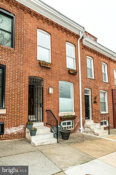 Baltimore City Townhouse For Sale: 1404 Jackson Street