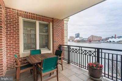 Baltimore Condo For Sale: 801 Key Highway #421