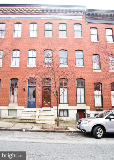 Butchers Hill Townhouse For Sale: 2213 E Pratt Street
