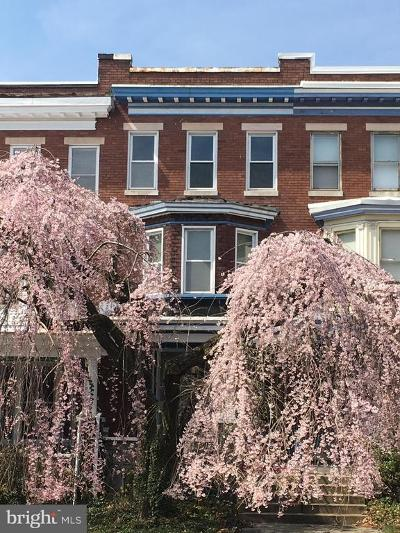 Charles Village Townhouse For Sale: 2842 Guilford Avenue