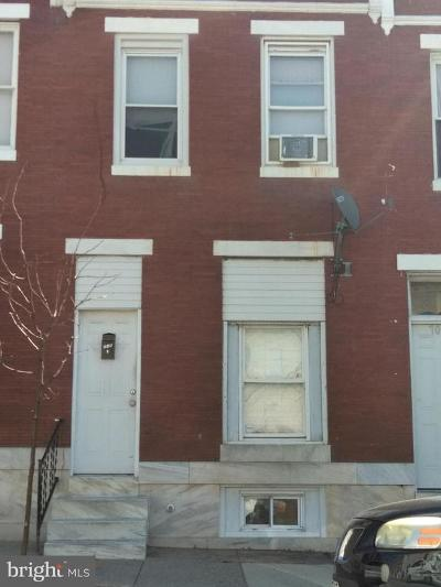Baltimore Townhouse For Sale: 705 N Lakewood Avenue
