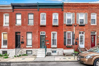 Federal Hill Townhouse For Sale: 1735 Clarkson Street