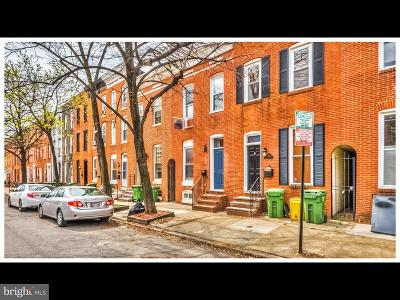 Baltimore City Townhouse For Sale: 1718 S Charles Street