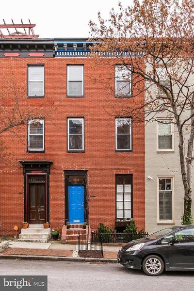 Baltimore City Townhouse For Sale: 2121 E Lombard Street