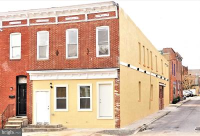 Baltimore City Multi Family Home For Sale: 2111 Orleans Street