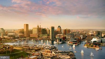 Baltimore City Rental For Rent: 100 Harborview Drive #2201