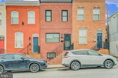 Baltimore City Townhouse For Sale: 515 S Bouldin Street