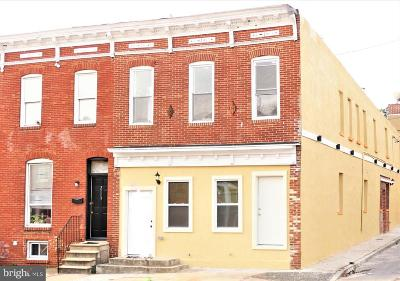 Baltimore City Townhouse For Sale: 2111 Orleans Street