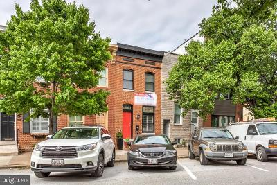 Canton, Canton Company, Canton Cove, Canton East, Canton, Patterson Park, Canton/Brewers Hill, Canton/Lighthouse Landing Townhouse For Sale: 3138 Elliott Street