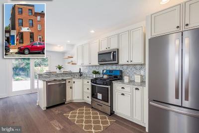 Baltimore City Townhouse For Sale: 209 S Washington Street