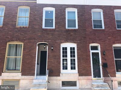 Baltimore Townhouse For Sale: 128 S Curley Street