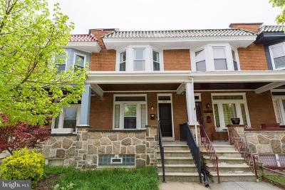 Baltimore City Townhouse For Sale: 341 E 29th Street