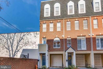 Baltimore City Townhouse For Sale: 1712 Mount Pleasant Avenue