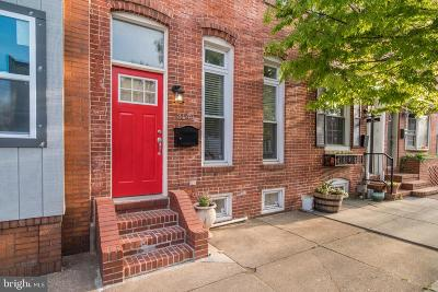 Baltimore City Townhouse For Sale: 3141 Dillon Street
