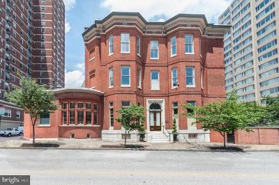 Baltimore Single Family Home For Sale: 106 E Chase Street