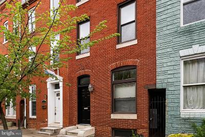 Baltimore City Townhouse For Sale: 117 S Ann Street