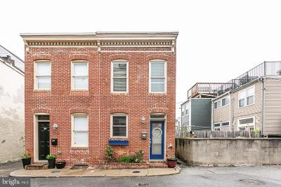 Federal Hill Townhouse For Sale: 1700 William Street